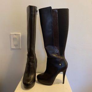 Andrea high boots heels